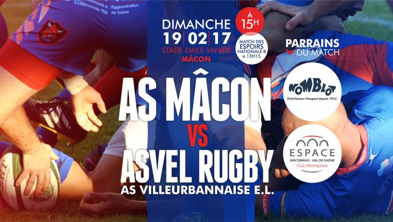 ASMACON vs ASVEL le 19/02 en images