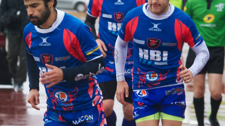 Dimanche 10 décembre MÂCON vs DIJON  score 29 /6 en images ( photos jpgenetier )