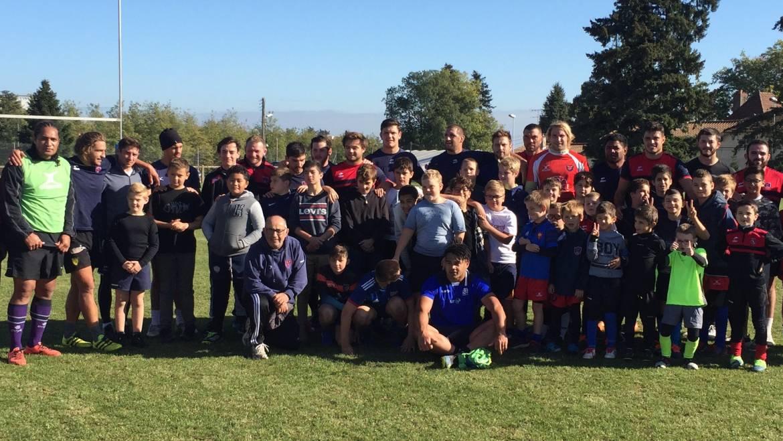 Vacances sportives pour l'Ecole De Rugby de l'ASMâcon
