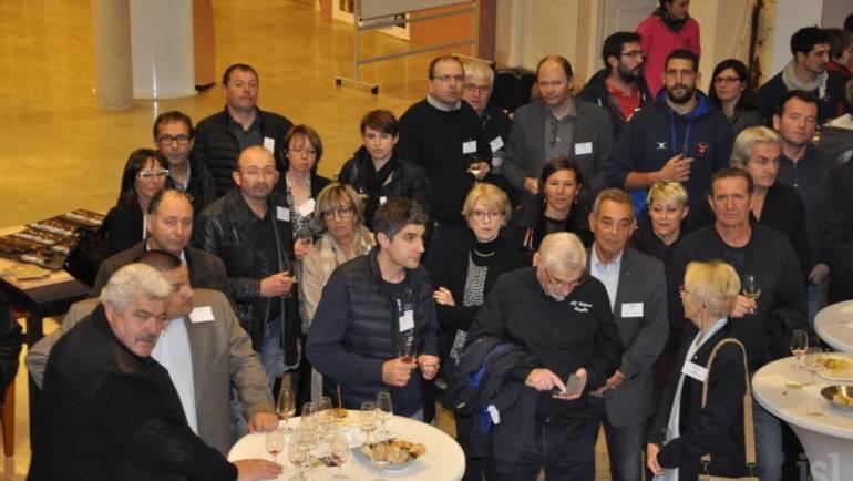 Le Cap XV reçoit les partenaires et amis de l'ASM à la Maison des vins