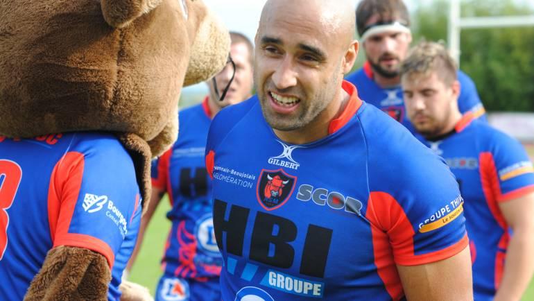 1er match à domicile le 17 septembre  contre Agde (en images ) score 19 à 16 (Photos JpGenetier )