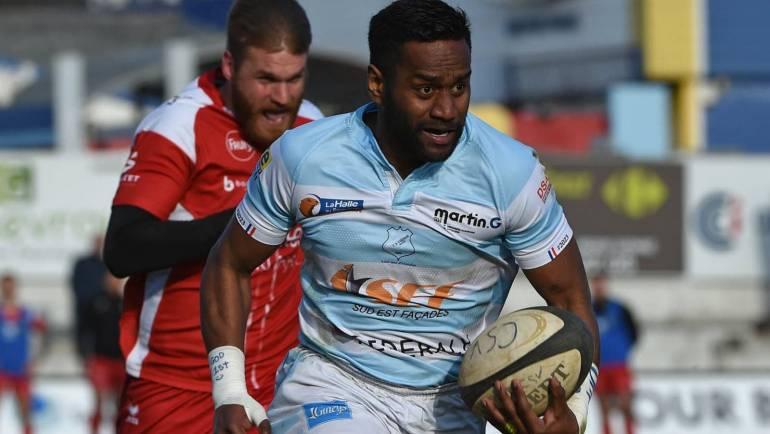 Saison 2021/2022 : l'arrière fidjien Emori Waqa signe à Mâcon !