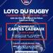 Rendez-vous le vendredi 8 octobre pour le loto du rugby